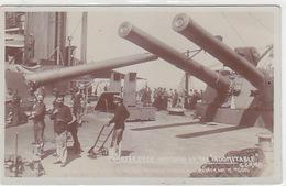 """The Indomitable"" - Deck And Guns - Photocard    (171117) - Guerra"