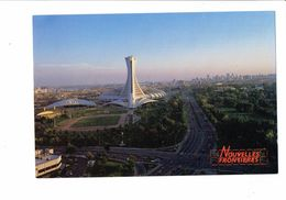 Cpm - CANADA - L'Amérique Des Grands Espaces - MONTREAL - Stade Olympique - Terrain Football Ou Rugby - Soccer