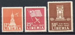 LIBERIA  -  1947  100TH ANNIVERSARY OF INDEPENDENCE    M829 - Liberia