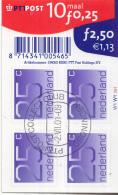 Nederland - Cijferzegels Crouwel - Zelfklevende Zegels - Stempel 2-7-2001 - NVPH V1110b - Periode 1980-... (Beatrix)