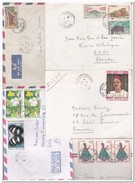 Kameroen, 8 Envelopes - Kameroen (1960-...)