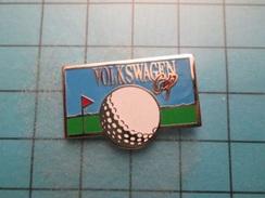Pin513b Pin's Pins / BALLE DE GOLF VW VOLKSWAGEN  Les Honteux Pollueurs Teutons !!! - Volkswagen
