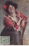 R. VALORI - LA SIGARETTA. Carte Postée D'ASMARA - Eritrea