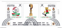 Oman New Issue 2017, Cism World Cup Foot-Ball Issued In Soub.shet Only-MNH Compl.noice Topial Sport- SKRILL PAY.ONLY - Oman