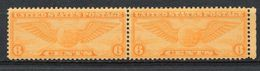 UNITED STATES  -  1934 WINGED GLOBE   SP61 - Air Mail
