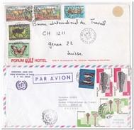 Ivoorkust, 2 Envelopes - Ivoorkust (1960-...)