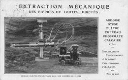 PARIS - Rue Réaumur - CIE INGERSOLL-RAND - Extraction Mécanique Des Pierres De Toutes Duretés - Francia
