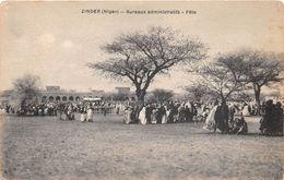 AFRIQUE - NIGER - ZINDER - Bureaux Administratifs - Fête - Niger