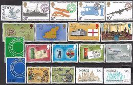 Northern Europe  1974   31 Stamps / Sets   MNH**   2016 Scott Value $14.75 - U.P.U.