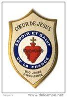 VIGNETTE RELIGIEUSE PATRIOTIQUE  GUERRE 14 18  -  ESPOIR ET SALUT DE LA FRANCE - Images Religieuses