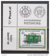 """Österreich 2001: """"Tag Der Briefmarke""""  Postfrisch (siehe Foto/Scan) - 2001-10 Nuevos & Fijasellos"""