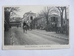 CPA6 - Carte Postale Ancienne CPA Sceaux Robinson La Rue De Malabry - Sceaux