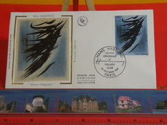 Coté 3,20€ > Hans Hartung, Oeuvre Originale > 20.12.1980 > Paris > FDC 1er Jour - FDC