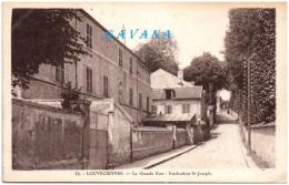 78 LOUVECIENNES - La Grande Rue - Institution St-Joseph - Louveciennes