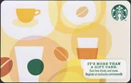 STATI UNITI  GIFT CARD STARBUCKS Coffee Bean US-STARB-6096-2012-03 - Cartes Cadeaux