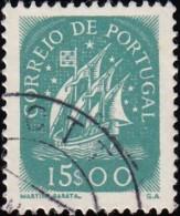 PORTUGAL - Scott #629 Ancient Sailling Vessel / Used Stamp - 1910-... République