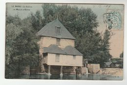 1907 FRANCE Stamps COVER  (postcard LE MANS La Sarthe) To GB - France