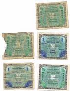 Lot  De  5 Biljets - [ 5] 1945-1949 : Occupazione Degli Alleati