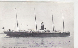 R.M.S. Parisian - Allan Line - London To Canada - 1907   (171117) - Steamers