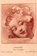 Musée De Besançon - Tête De Fillette - Fragonard - Peintures & Tableaux