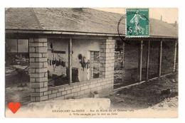 18422-LE-14-GRANDCAMP-les-BAINS-Raz De Marée Du 28 Octobre 1909-Villa Saccagée Par La Mer En Furie - Francia