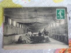 CPA Originale Dirigeable Lebaudy Moisson ( S & O 78 ) Hangar Les Ateliers 1914 - Dirigeables