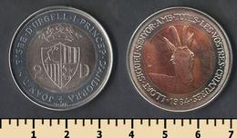 Andorra 2 Diners 1984 - Andorre