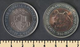 Andorra 2 Diners 1984 - Andorra