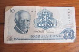 10 Kroner Norvège 1976 - Norvège