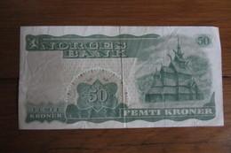 50 Kroner Norvège 1975 - Norvège