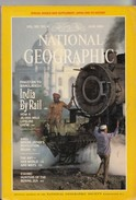 National Geographic Magazine Vol. 165, No. 6, June 1984, India By Rail - Travel/ Exploration