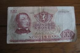 100 Kroner Norvège 1970 - Norvège