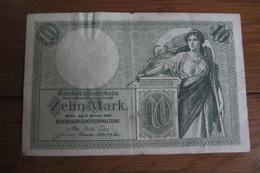 10 Mark 1906 Allemagne - [ 2] 1871-1918 : Duitse Rijk