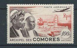 COMORES 1950/53 . Poste Aérienne N° 2 . Neuf * (MH) - Airmail