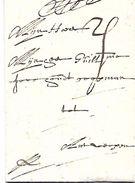Enkelvoudige Zaken Vouwbrief  BRUSSEL - ANTWERPEN   7-3-1695   Code 00390 - 1598-1621 (Independent Netherlands)