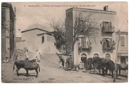 Mascara - Place De L\'Argoub Et Le Marabout De Sidi-Boudjlel - Algérie