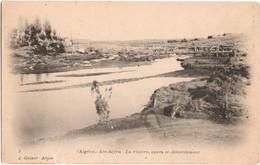 Aïn-Sefra - La Rivière, Après Le Débordement - Algérie