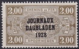 Belgie   .     OBP   .     DA  9       .    **   .    Postfris     .   /    .   Neuf SANS  Charniere - Newspaper