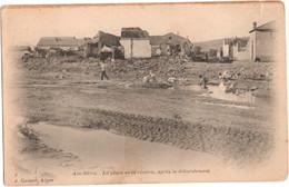 Aïn-Sefra - La Place Et La Rivière, Après Le Débordement - Algérie