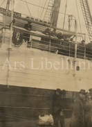 Photo Ancien / Foto / Ship / Expédier / Size: 10 X 7.50. / With Small White Border - Barcos