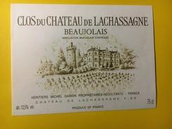 5788 - Clos Du Château De Lachassagne - Beaujolais