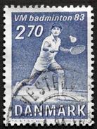 Denmark 1983 MiNr. 770 (O)Badminton-Weltmeiterschaften / Badminton World Championships  ( Lot  C 1366 ) - Usado