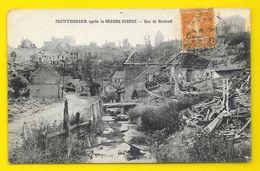 MONTDIDIER La Rue De Breteuil Après La Guerre (Caron) Somme (80) - Montdidier