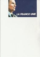 VIGNETTE AUTOCOLLANTE - FRANCOIS MITTERRAND - LA FRANCE UNIE - Stickers