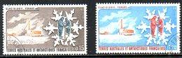 TAAF. N°102-3 Oblitérés De 1984. Glaciologie. - Tierras Australes Y Antárticas Francesas (TAAF)