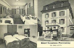 Porrentruy (Jura, Svizzera) Hotel Terminus Restaurant, Esterno, Sala Da Pranzo, Camera Da Letto - JU Jura