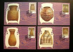 Thailand Maximum Cards 1995 International Letter Writing Week - Thailand