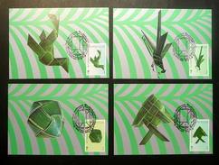 Thailand Maximum Cards 1988 International Letter Writing Week - Thailand