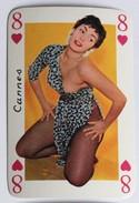 Carte à Jouer érotique Pin Up Cannes Sourires De France Belotte Tierce - Playing Cards