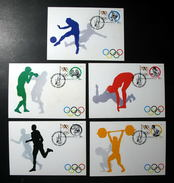 Thailand Maximum Cards 1994 100th International Qlympic Committee - Thailand